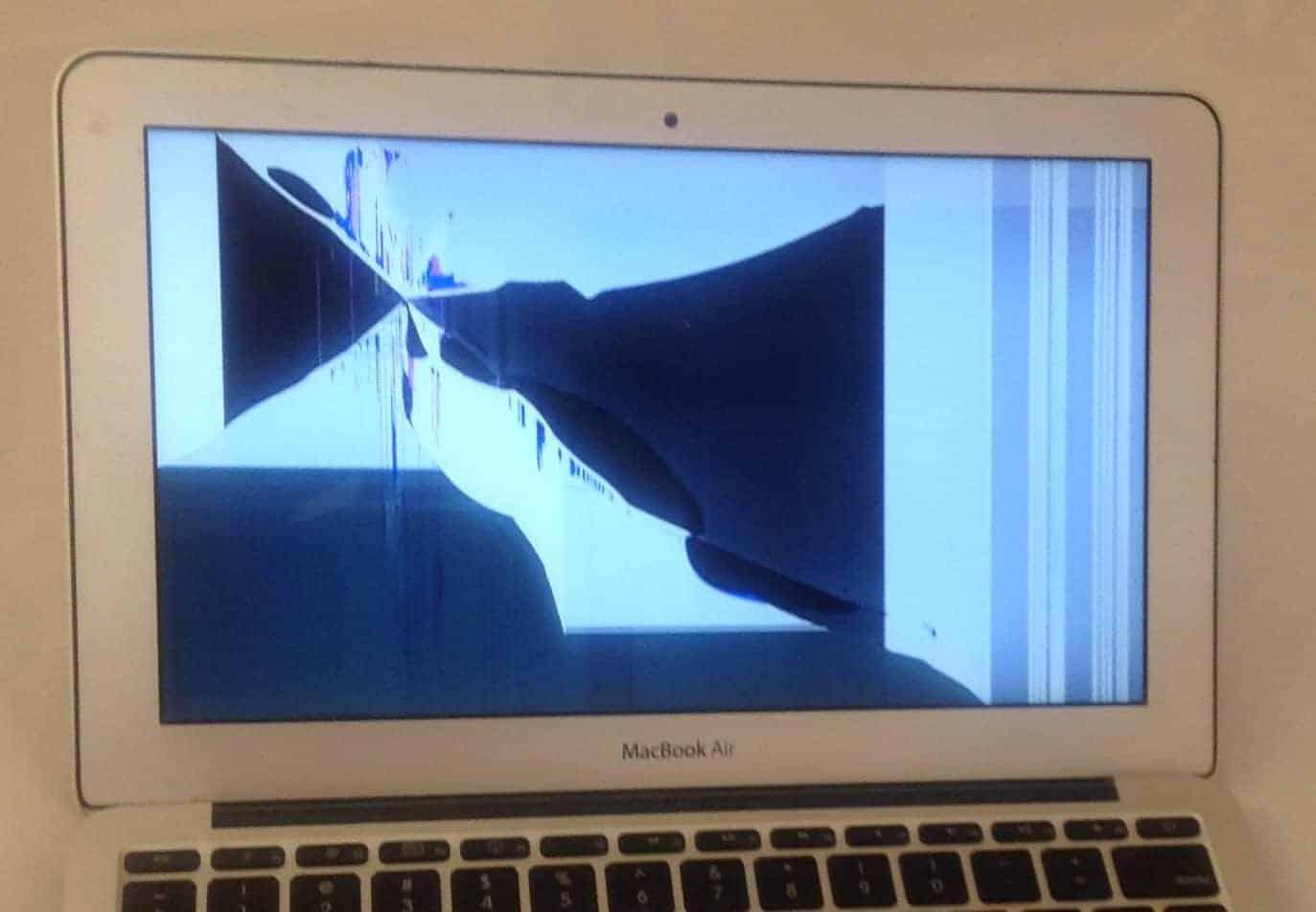 What does a broken LCD look like? · EliteMacTechs