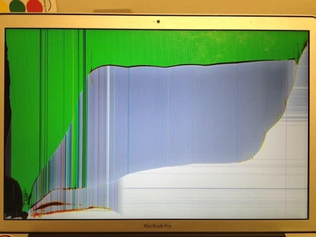 Matte LCD cracked on MacBook Pro