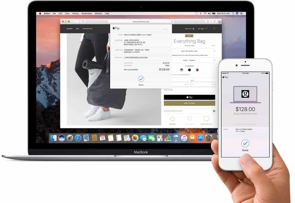 Apple Pay on Apple Sierra