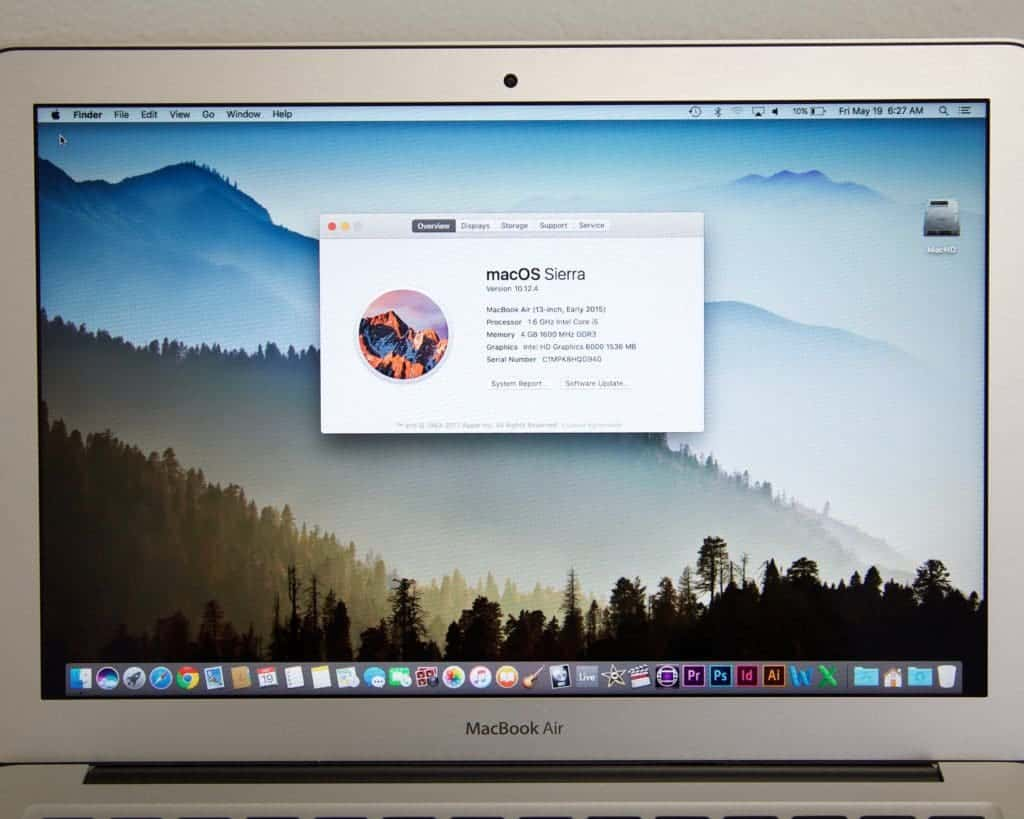 MacBook Air 13 for sale specs