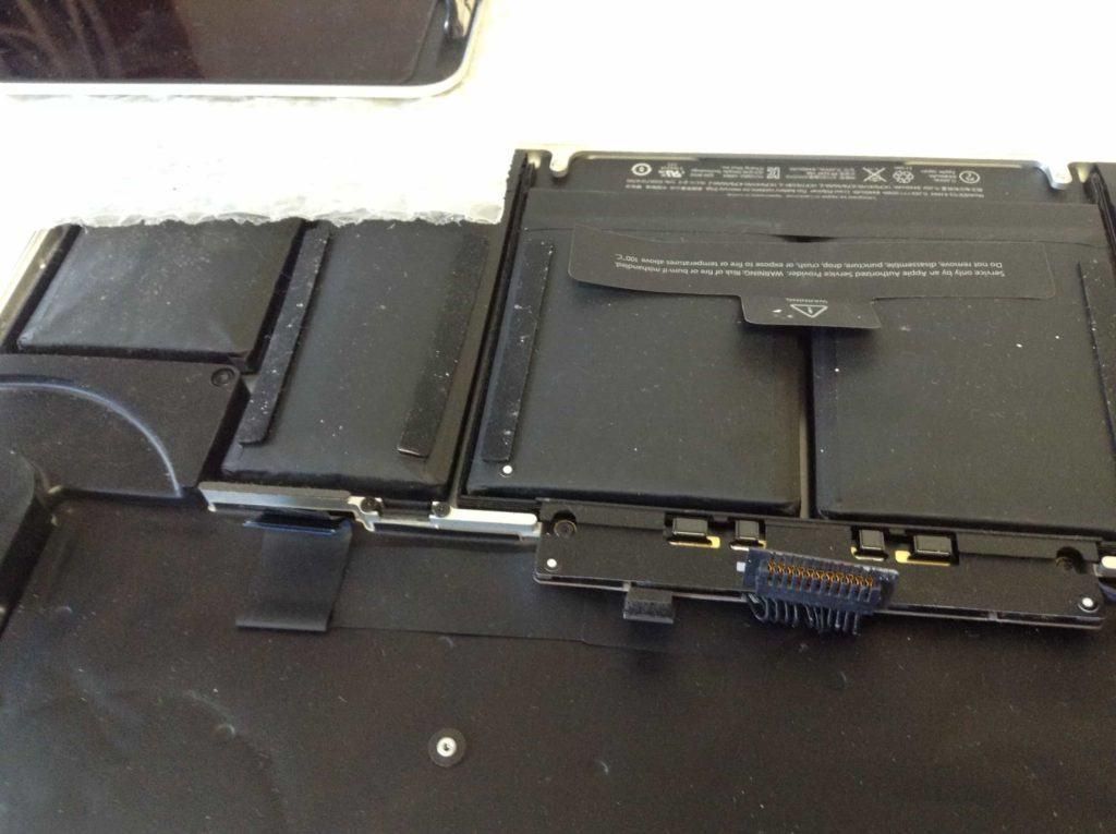 Retina MacBook Pro Battery that is swollen