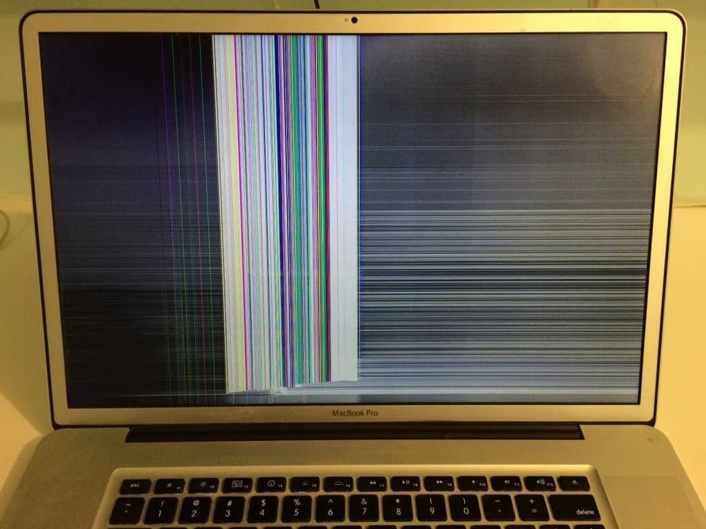 Macbook cracked screen | How to replace 13″ MacBook Air cracked