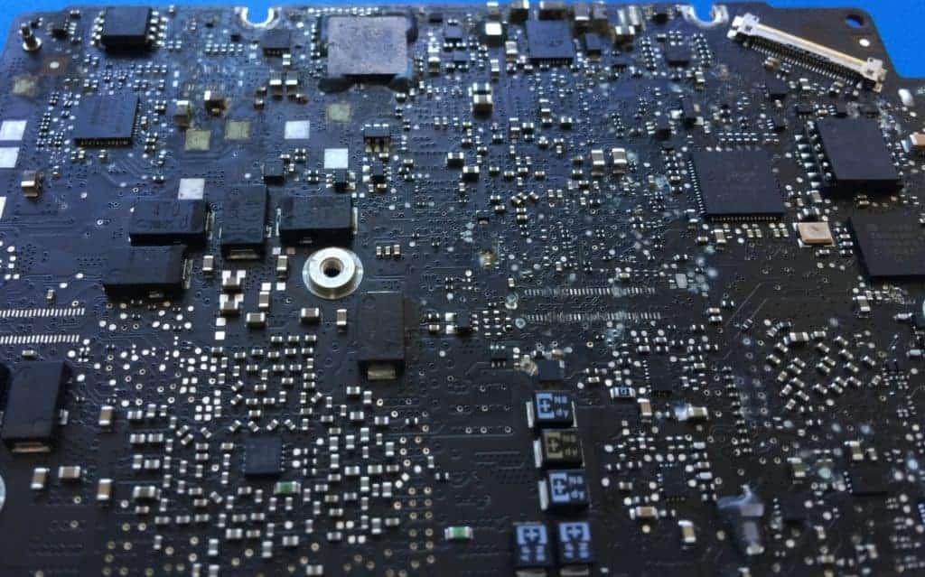 Mac Liquid Damaged Board